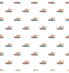 Sneakers pattern seamless vector