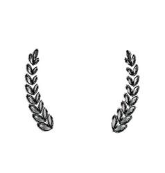 wreath ornament symbol vector image vector image