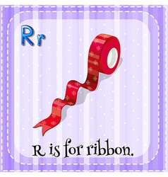 A letter r vector