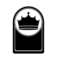 King crown icon vector