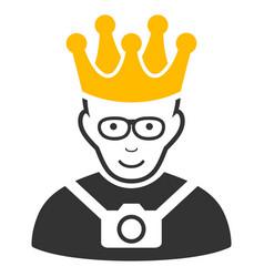 Thailand king icon vector