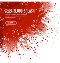 Blood splash background webpage design poster vector