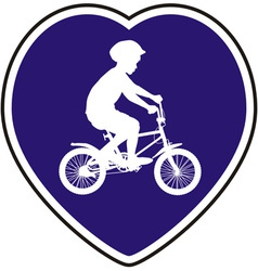 Cycle Path vector image