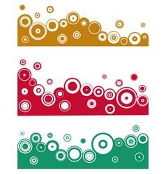 border designs vector image