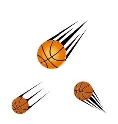 Basketball logo on a white background vector