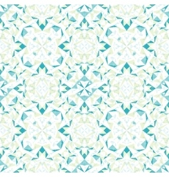Modern white blue green abstract geometric vector