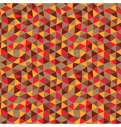 Geometric pattern texture with trianglesmosaic vector