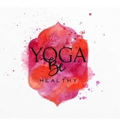 Beauty natural spa yoga health vector