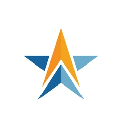 A star logo vector