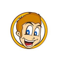 cartoon guy vector image vector image