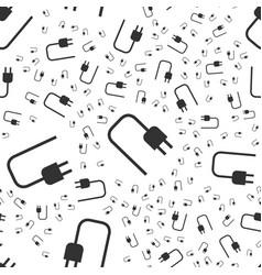 Socket plug seamless pattern vector