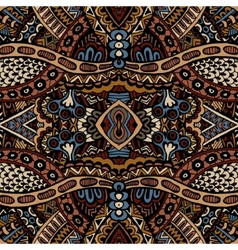 Tribal seamless pattern ornamental vector image