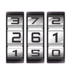 Counter device number icon vector