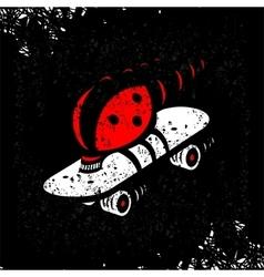 Symbol Speed Skating vector image vector image