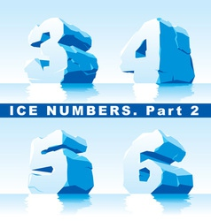 Ice numbers part 2 vector