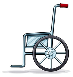 A wheelchair vector