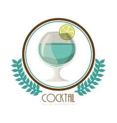 Beverage menu design vector