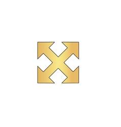 Enlarge computer symbol vector