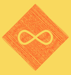 Limitless symbol red vector