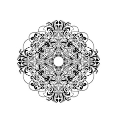 ceiling rose vector image