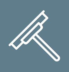 Glass wiper vector