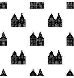 housing in belgiumthe dark belgian wolf belgium vector image vector image