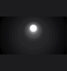 light at the end of tunnel background vector image