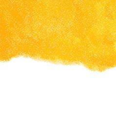 Orange chalk pastels background vector