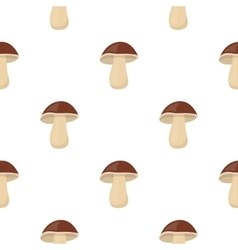 Mushroom icon cartoon singe vegetables icon from vector