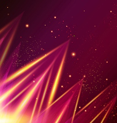 Abstract shiny background with triangles vector