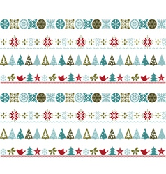 Seamless christmas vector