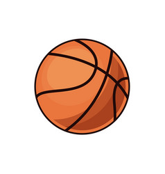 Basketball ball sport play equipment image vector