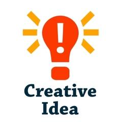 creative idea icon vector image