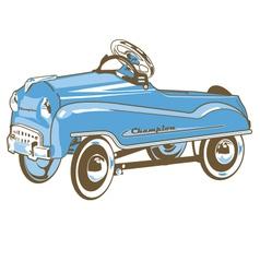 pedalcar vector image