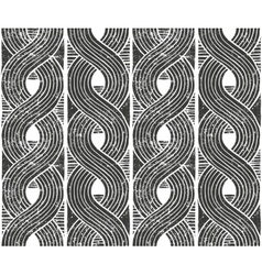 Seamless abstract pattern hand drawn vector