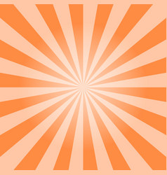 sun burst background vector image vector image