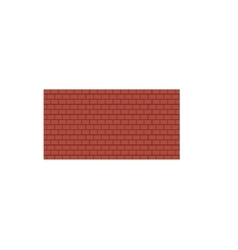 Background of old vintage brown brick wall vector