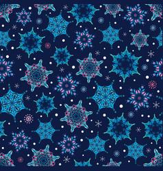 Holiday dark blue hand drawn christmass vector