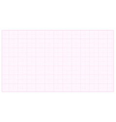 millimeter paper pink graphing paper for vector image