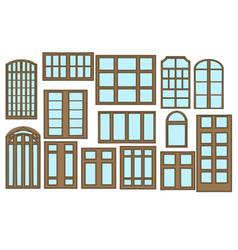 Set of window vector
