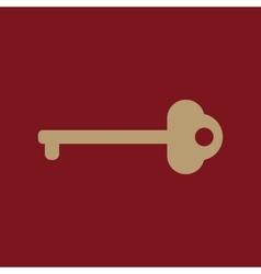 The key icon vector
