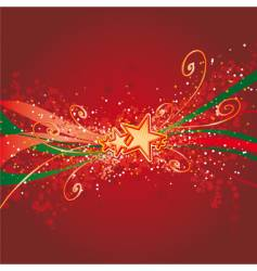 x-mas background vector image vector image