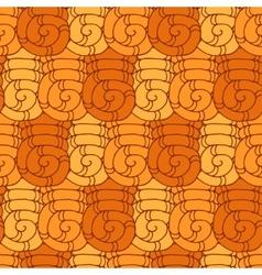 Seamless pattern swirl vector image