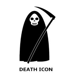Death icon vector