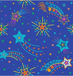 festive sky background vector image vector image