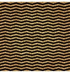 Christmas Golden Pattern vector image