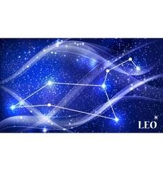Symbol leo zodiac sign vector