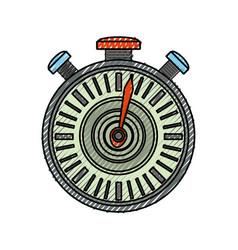 Isolated sport chronometer vector