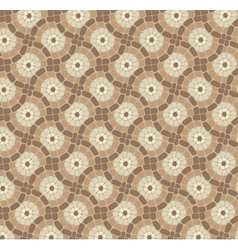 Tile mosaic floor vector
