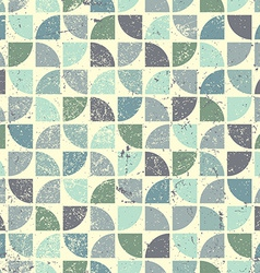 Vintage bright geometric seamless pattern flower vector